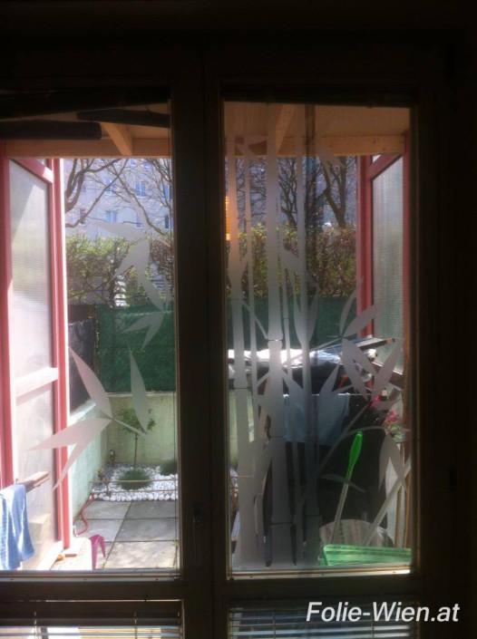 milchglas-folierung-waende-Konferenzräume-Glaswände-Sichtschutzfolie-Milchglasfolierung-Folierung-Eingangstüren-Drehtüren